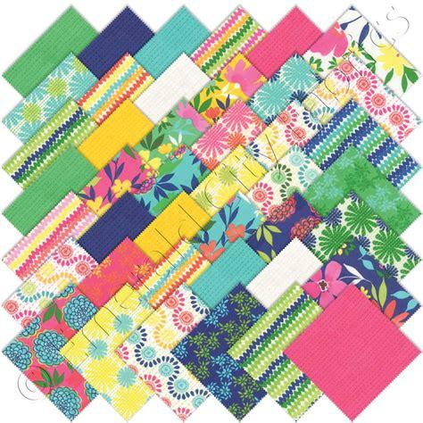 Quilting Fabric Charm Packs by Moda Karma Charm Pack Emerald City Fabrics