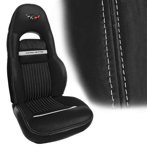 c5 corvette cover c5 corvette 1997 2004 accent stitch leather seat covers