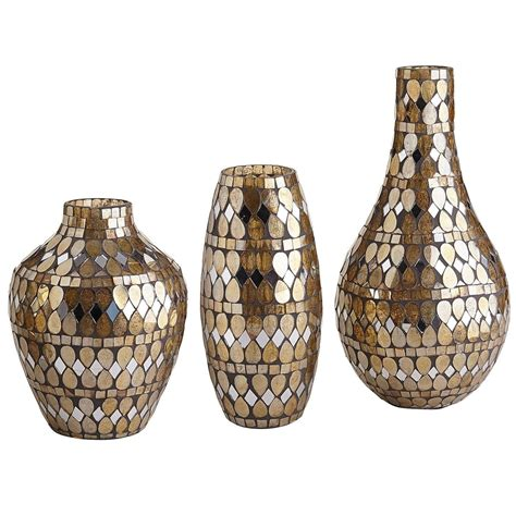 Pier 1 Vase golden mosaic vases from pier 1 imports