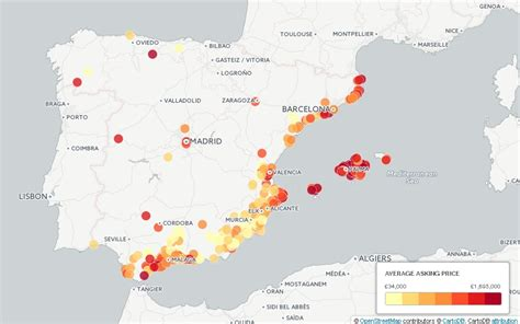 house buying websites uk mapped where to find spain s cheapest property
