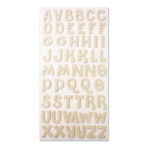 lettere alfabeto adesive lettere adesive 25 mm in tessuto beige x54 perles co