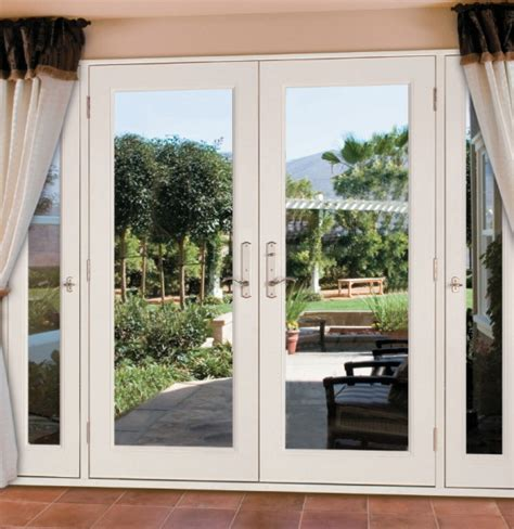 Patio Doors With Side Panels Patio Doors With Sidelights That Open Icamblog