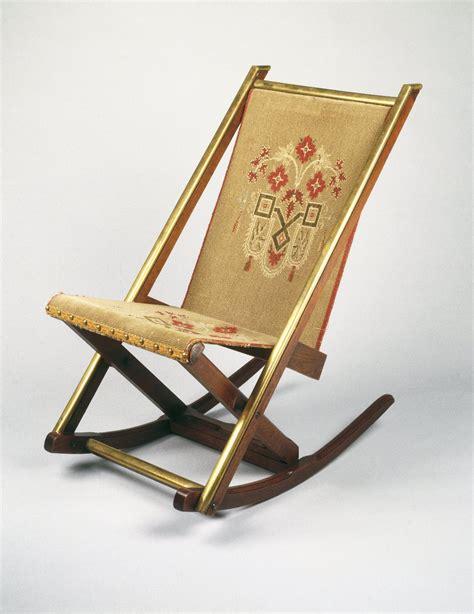 decorative folding chairs museum decorative arts folding rocking chair
