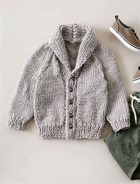 knitted collar pattern bernat shawl collar cardigan knit pattern yarnspirations