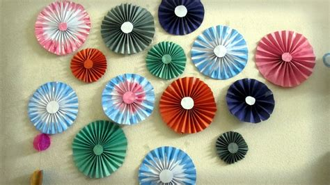 home decoration with paper wall decoration with paper flower part 2
