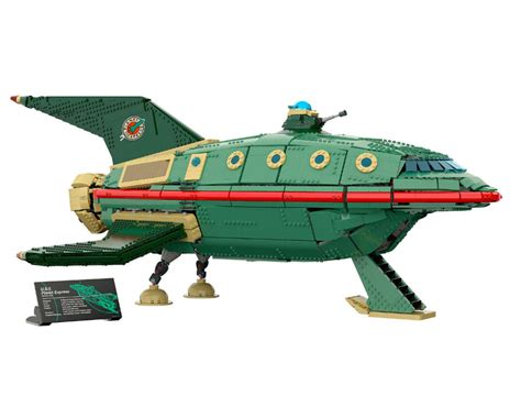 lego planet express ship our minifig crew is replaceable