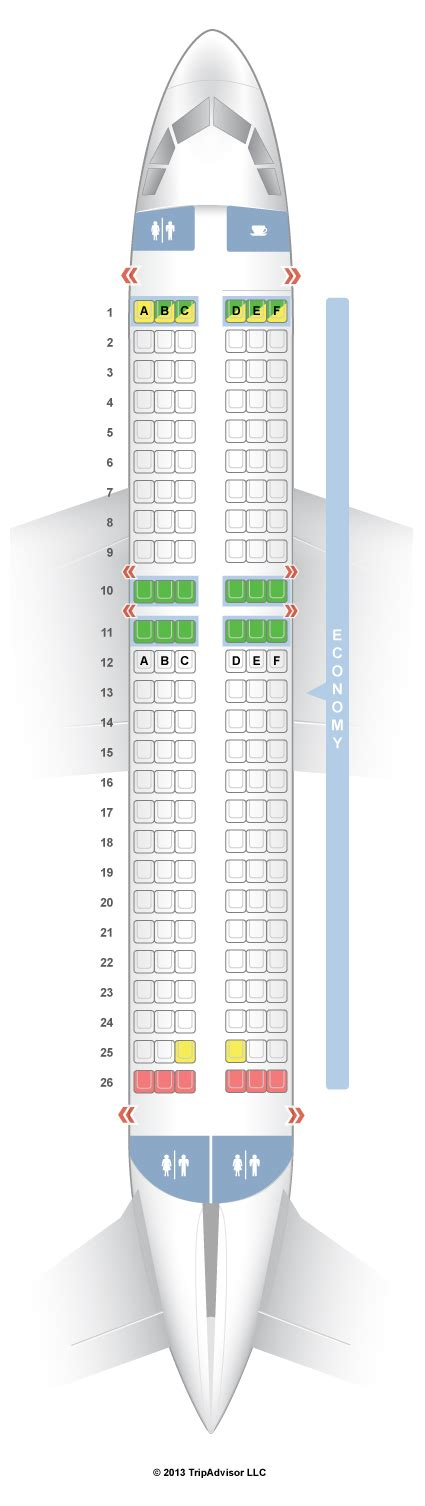 United Check In Baggage by Seatguru Seat Map Easyjet Airbus A319 319