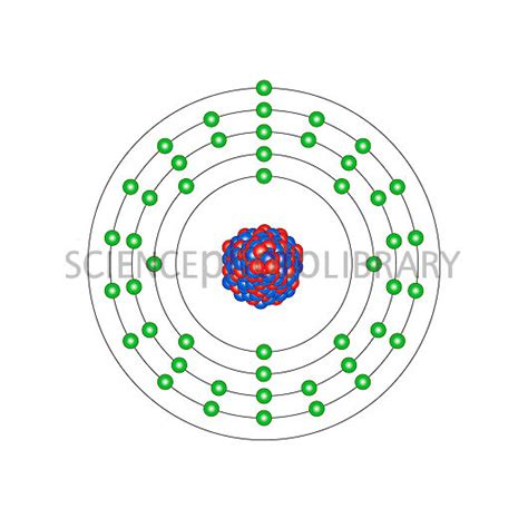 silver atom diagram silver atomic structure stock image c013 1597 science