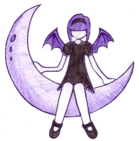 gothic fairy tattoos purple by natzs101 on deviantart
