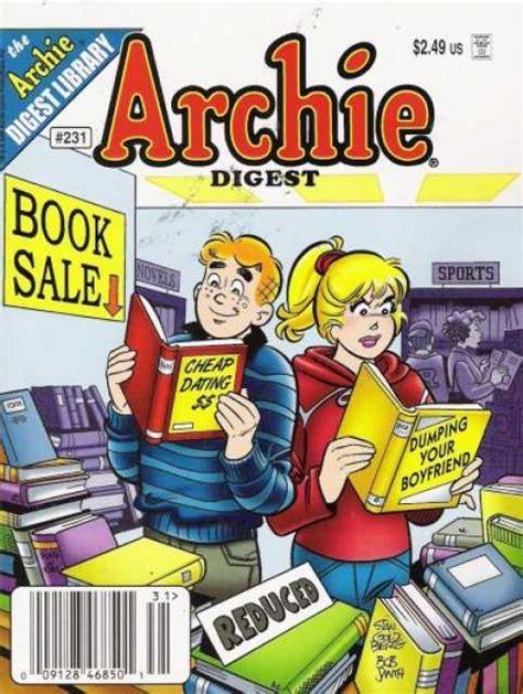 Archie Digest 224 archie digest magazine 221 issue