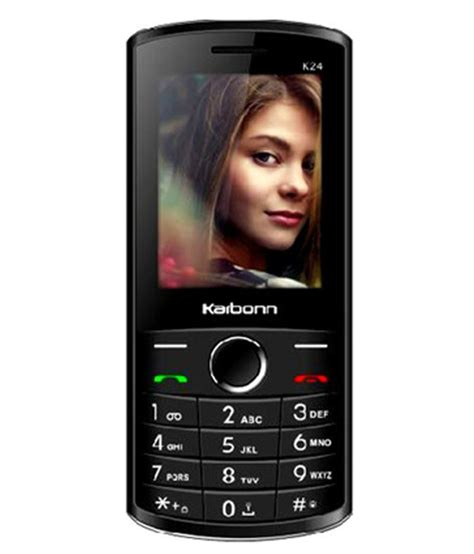 free sms to mobile india karbonn k24 black feature phone at low prices