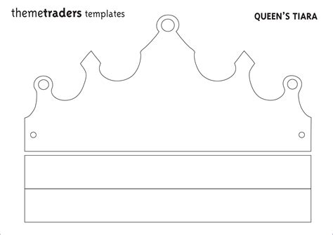 printable children s crown template printable crown jobproposalideas com