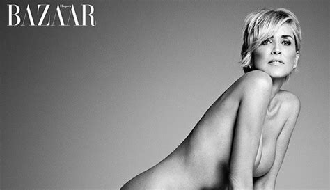 sharon stone reveals her secret to looking so young is naked sharon stone lying or photoshopped