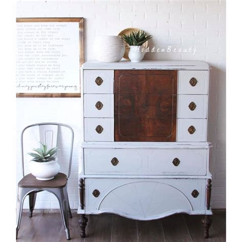 seagull gray milk paint cabinets darling distressed cabinet in seagull gray milk paint