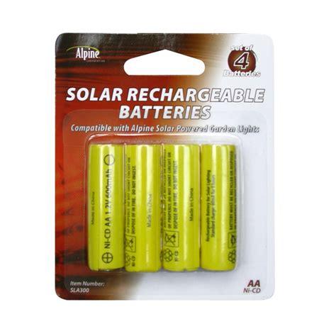 Upc 821559024374 Alpine Replacement Solar Light Battery Solar Light Battery