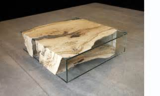 Wood Glass Coffee Table Modern Wood And Glass Coffee Table