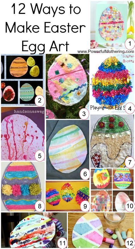 how to make easter eggs 12 ways to make easter egg art
