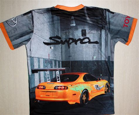 Toyota Logo T Shirt toyota supra t shirt with logo and all printed