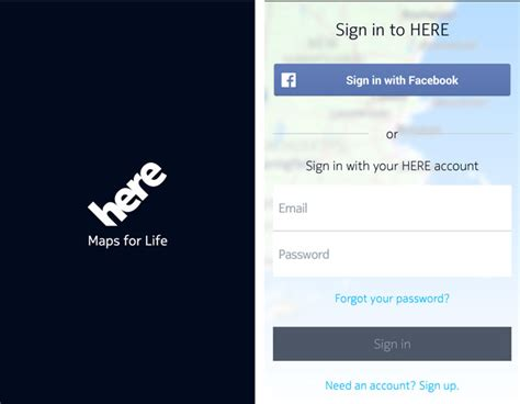 map login getting started with here for android the basics