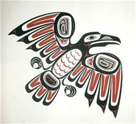 haida native american bird tattoo symbolism of the raven thomas p hopp s blog
