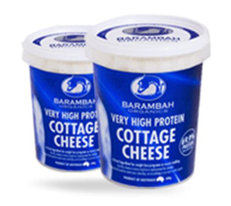 Protein Cottage Cheese by Organic Cheese Barambah Organics