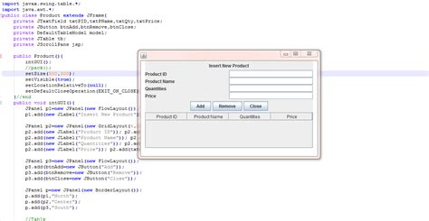 How To Create Form In Java Using Swing Part 1 Ikh74