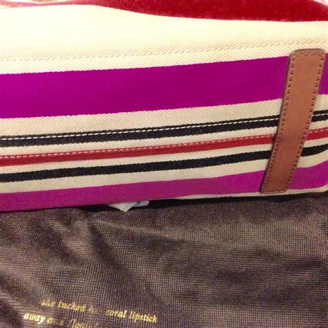 Kate Spade Oak Or Island Stripes Ori kate spade oak island stripe canvas tote tradesy