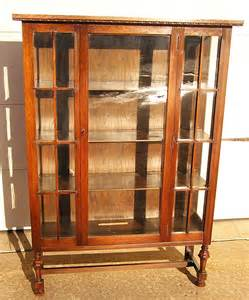 an arts crafts era mission oak china cabinet 1900 for