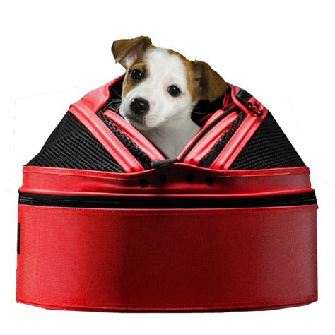 sleepypod mobile pet bed sleepypod mobile pet carrier bed strawberry red baxterboo