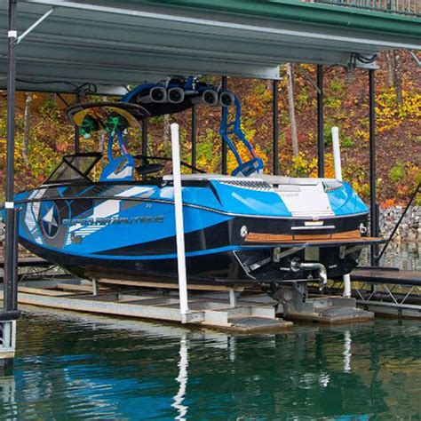 wakeboard boat lift carolina lift systems quality boat lifts are designed