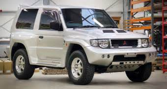 1998 mitsubishi pajero evolution has a cool story to tell