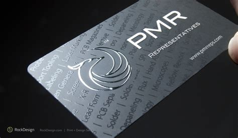 Foil Embossed Business Cards