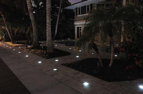 solar brick paver lights solar paver lights palm florida fl