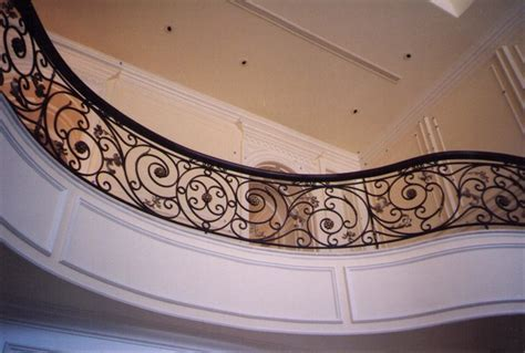 Wrought iron railing   Traditional   Staircase   Montreal