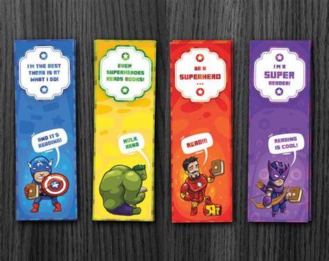 printable bookmarks marvel superhero bookmarks avengers bookmarks hulk bookmark