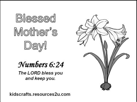 christian childrens coloring pages for mother s day religious coloring pages religious mothers day coloring