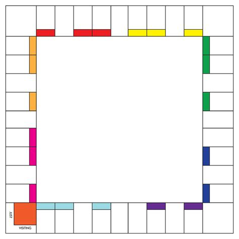 search results for printable blank monopoly game board