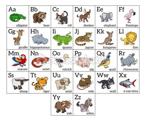 Imagenes En Ingles En Orden Alfabetico | dibujos de animales por orden alfabetico para ni 241 os