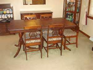 Global Furniture Dining Room Sets vintage duncan phyfe mahogany dining room set eary 1940
