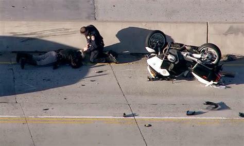 Chp Log chp officer injured in northbound 170 freeway crash 4