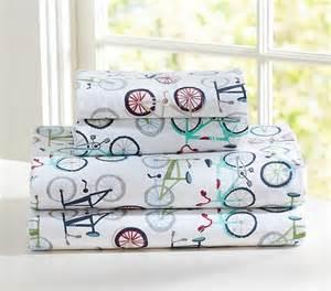 Cool Flower Vases Bicycle Sheet Set Kids Bedding San Francisco By