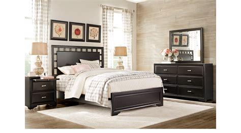belcourt black  pc king lattice bedroom panel