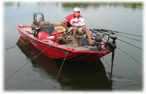 mounting rod holders on bass boat spider rigs