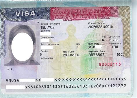 united states visas by type