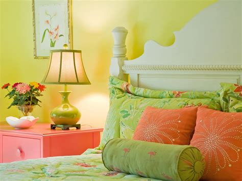 Green And Yellow Curtains Decorating 15 Cheery Yellow Bedrooms Bedrooms Bedroom Decorating Ideas Hgtv