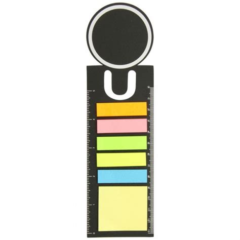Ruler Bookmark bookmark ruler with sticky notes branded promotional