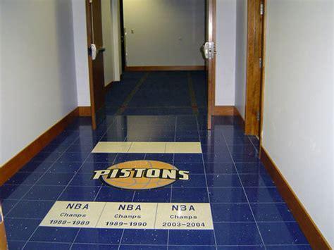pistons locker room photo gallery