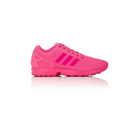 mens pink sneakers adidas originals s zx flux sneakers in pink for lyst