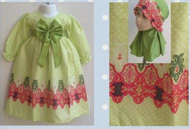 Turban Bayi Model Pita Polos 10 10 contoh model desain baju muslim bayi balita terbaru