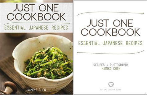 ebook cookbook template just one cookbook ebook essential japanese recipes